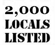 2000 locals listed