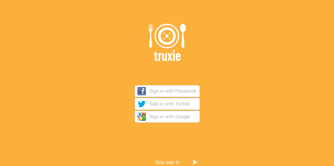 truxie food truck locator app Raleigh Durham Chapel Hill NC