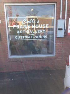 Cable's Frame House Inc. | Frame Shop and Art Gallery Raleigh NC