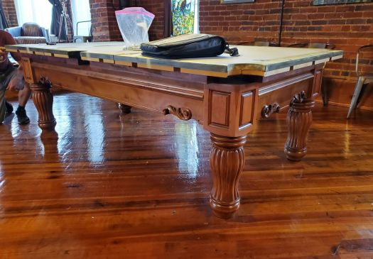 8′ BRUNSWICK DOMINION Pool Table For Sale Raleigh NC By Professional Billiards