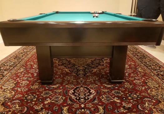 8′ BRUNSWICK HAWTHORN Pool Table For Sale Raleigh NC By Professional Billiards