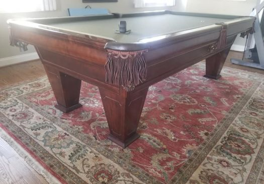 8′ BRUNSWICK VENTURA Pool Table For Sale Raleigh NC By Professional Billiards