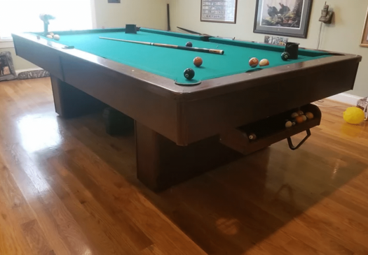9′ OLHAUSEN MONARCH Pool Table For Sale Raleigh NC By Professional Billiards