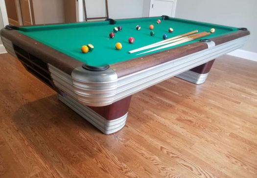 9 Foot BRUNSWICK BALKE COLLENDAR CENTENNIAL Pool Table For Sale Raleigh NC By Professional Billiards