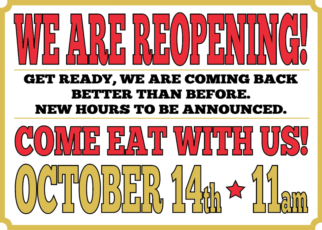 Clyde Coopers Raleigh NC Reopening October 14 2020