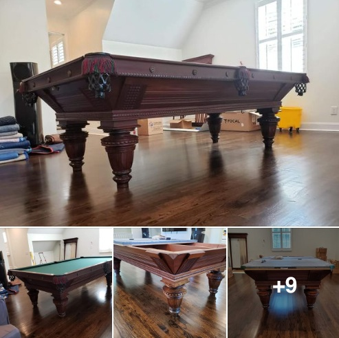 Fully restored Brunswick Balke Collendar Pool Table Facebook