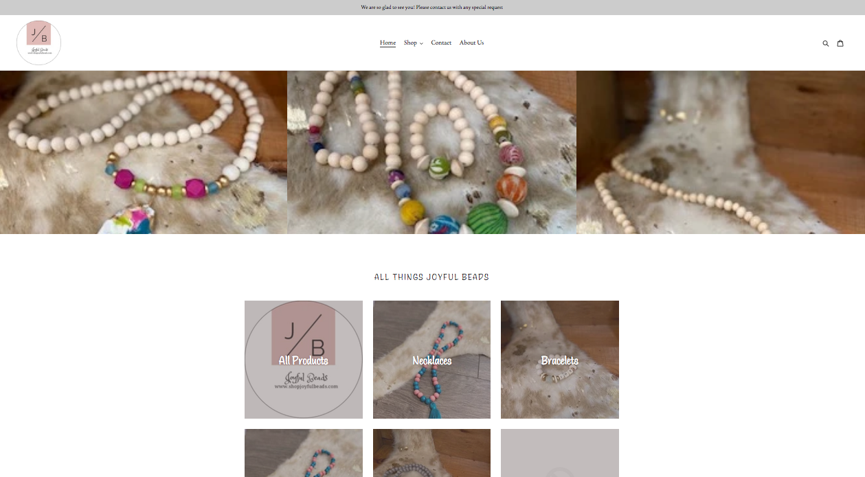 Joyful Beads Handmade Custom Bead Jewelry Wilson NC